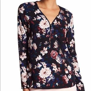 Flower blouse from Catherine Malandrino worn once.